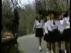 Vintage Schoolgirls Enjoyment.