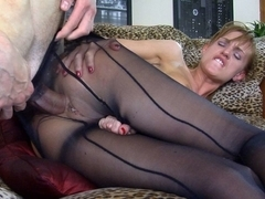 Anal-Pantyhose Video: Rosa and Gerhard