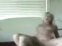 Hot Blonde Rides Her Lovers Cock