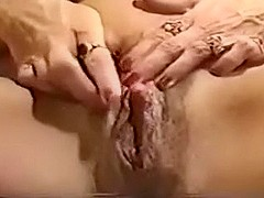 Mature woman with biggest milk sacks showed me her big cunt