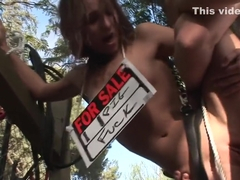 Amazing pornstar Amber Rayne in best gaping, outdoor sex video