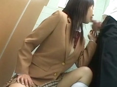 Hottest Japanese model in Horny Brunette, Public JAV scene