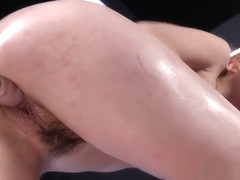 Hot Redhead Squirts On Fucking Machine