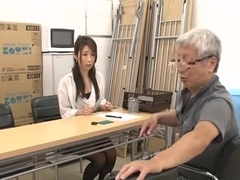 Japanese Grandpa having fun with young girls part 2