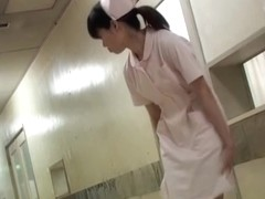 Japanese teen trying to escape from nasty panty sharking