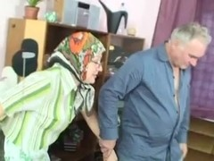 Grandma and grandpa having sex