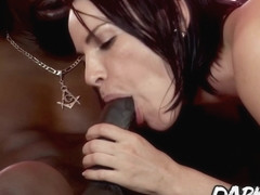Dana DeArmond know how it feels to have a big black dick in her ass