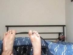 F/M foot tickle torture with oil