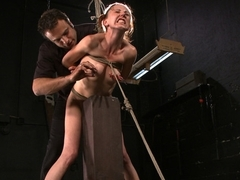 Amazing fetish, anal sex video with exotic pornstar Sasha Lexing from Dungeonsex