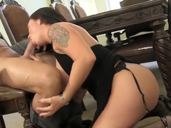 Smoking-Hot MILF Maci Maguire Seduces Employee