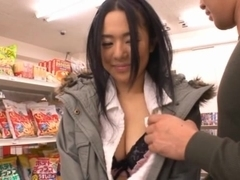 Fucking In The Supermarket Makes Sora Aoi Wet