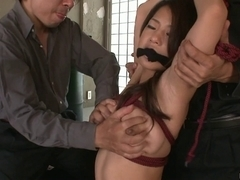 Sexy mother i'd like to fuck Satomi Suzuki in group act