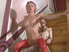 MaturesAndPantyhose Movie: Isabella and Peter B