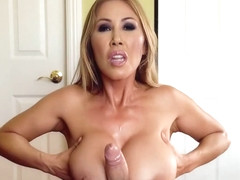 Sexy Milf Gives Him A Titty Fucking