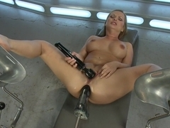 Best fetish porn scene with incredible pornstar Katja Kassin from Fuckingmachines