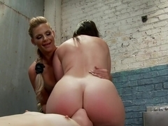 Hottest gaping, fetish porn scene with exotic pornstars Virgo Peridot, Mona Wales and Phoenix Marie from Everythingbutt