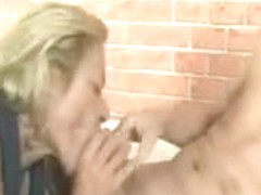 Dirty Mature Whore Gets Horny Sucking