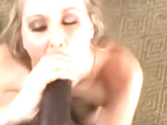 Julia Ann Gives Head And Strokes Big Black Cock