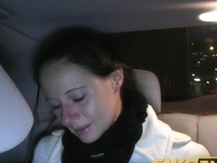 FakeTaxi: Enza bonks me on camera to give to her ex