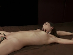 Amber Rayne, Helpless and Chained